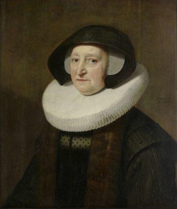 Portrait of Mary Petitpas (? -1640). 1637 | Michiel Jansz. van Mierevelt | oil painting
