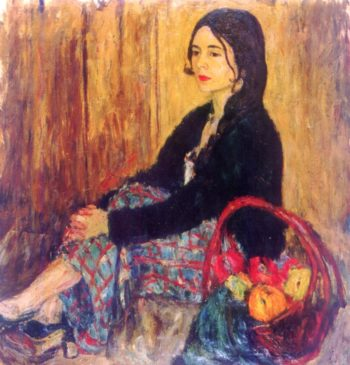 Portrait of Lucy | Abraham A Manievich | oil painting