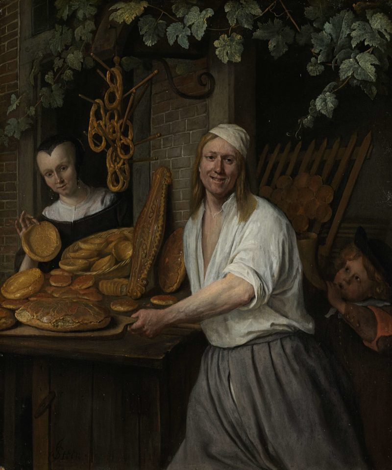 The Baker Arent Oostwaard and his Wife