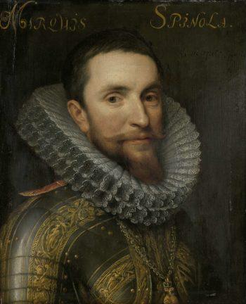 Portrait of Ambrogio Spinola. ca. 1609 - ca. 1633 | Michiel Jansz. van Mierevelt | oil painting