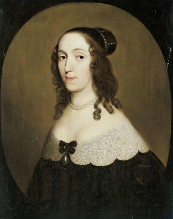 Portrait of Louise Christina (1606-69)