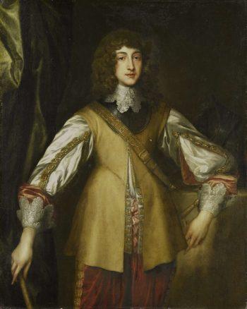 Portrait of Prince Rupert (1619-82)