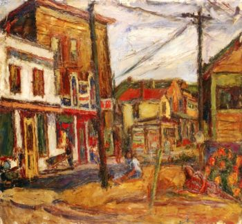 White Plains New York | Abraham A Manievich | oil painting