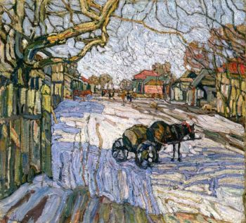 Winter II | Abraham A Manievich | oil painting