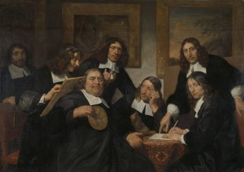 The governors of the Guild of St Luke in Haarlem