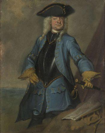 Gerrit Sichterman (1688-1730). Quartermaster general of cavalry