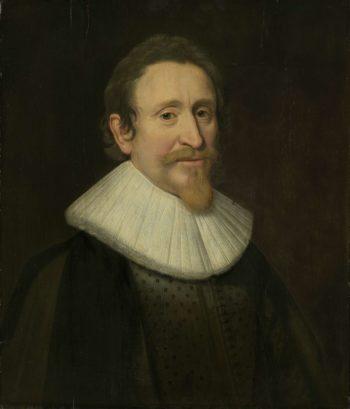 Portrait of Hugo Grotius (1583-1645). 1631 | Michiel Jansz. van Mierevelt | oil painting