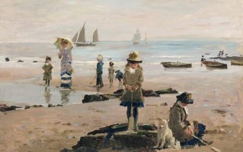 By the Seaside | Alexander Mark Rossi | oil painting