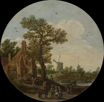 Summer. 1625   Jan van Goyen   oil painting