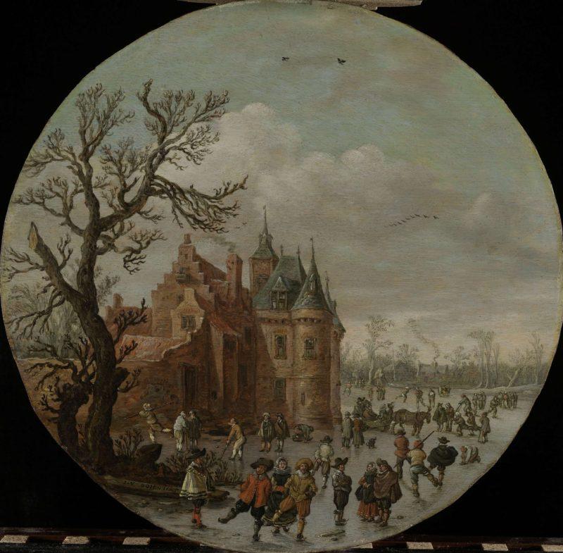 Winter. 1625 | Jan van Goyen | oil painting