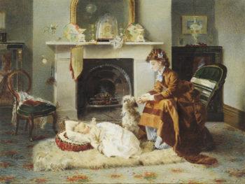 Golden Moments | Alexander Mark Rossi | oil painting