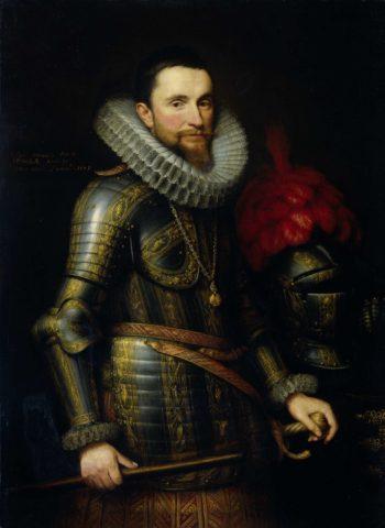 Portrait of Ambrogio Spinola (1569-1630). 1609   Michiel Jansz. van Mierevelt   oil painting