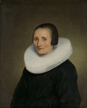 Portrait of Margaretha de Geer (1585-1672). 1651 | Jacob Gerritsz. Cuyp | oil painting