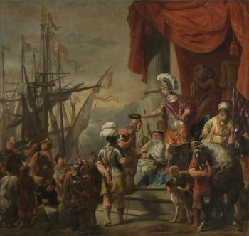 Aeneas at the Court of Latinus. ca. 1661 - ca. 1664 | Ferdinand Bol | oil painting