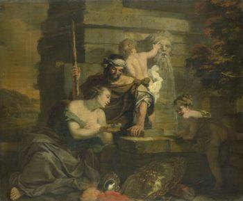 Granida and Daiphilo. ca. 1665 - ca. 1668 | Gerard de Lairesse | oil painting