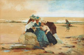 The Love Letter | Alexander Mark Rossi | oil painting