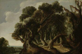 Wooded Landscape. ca. 1633 | Jacob Jacobsz van Geel | oil painting