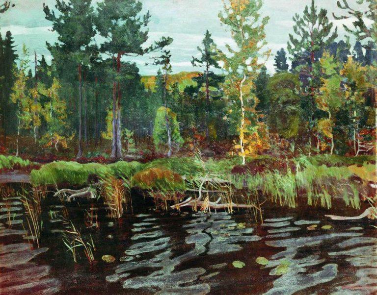 Backwoods | Arkady Rylov | oil painting