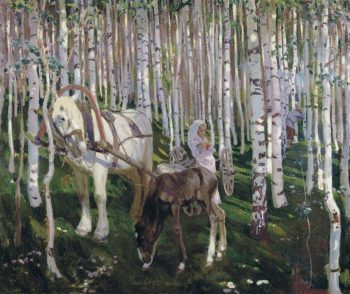 In the Woods | Arkady Rylov | oil painting
