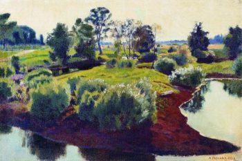 Islet | Arkady Rylov | oil painting