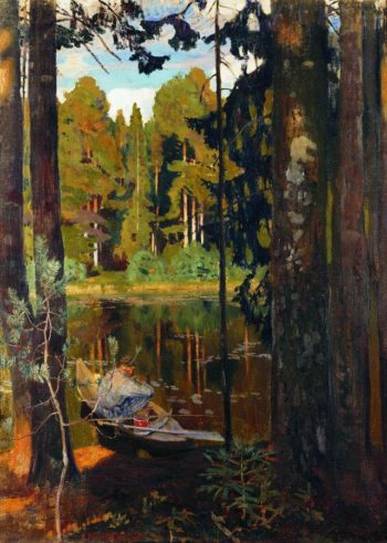 Quiet Lake | Arkady Rylov | oil painting
