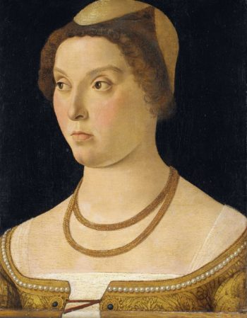 Portrait of a woman. 1450 - 1470 | Giovanni Bellini | oil painting