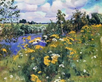 Wild flowers | Arkady Rylov | oil painting