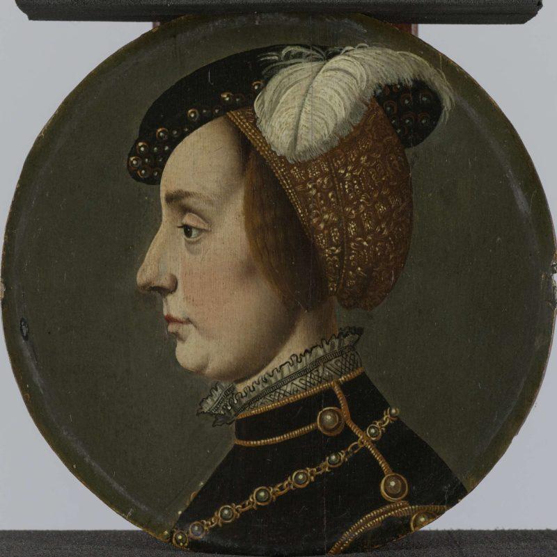 Portrait vam Anna of Lorraine (1522-68)