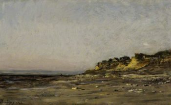 Villerville Normandy | Charles Francois Daubigny | oil painting