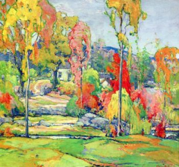 Autumn Design | Charles Reiffel | oil painting