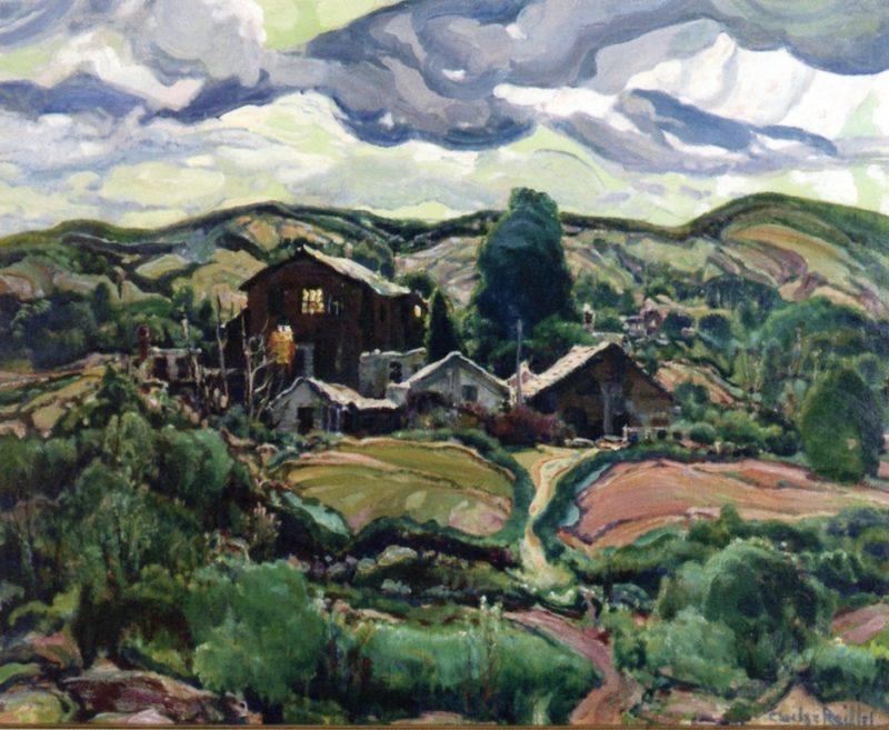 Back Country Houses | Charles Reiffel | oil painting