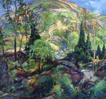 In the Hills | Charles Reiffel | oil painting