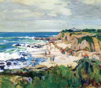 La Jolla Shores | Charles Reiffel | oil painting