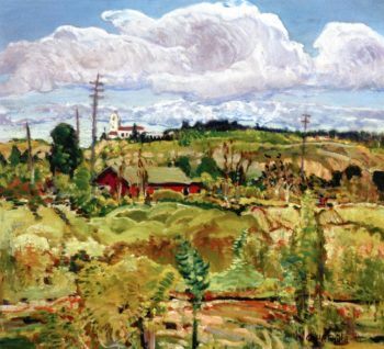 Near Old Town | Charles Reiffel | oil painting