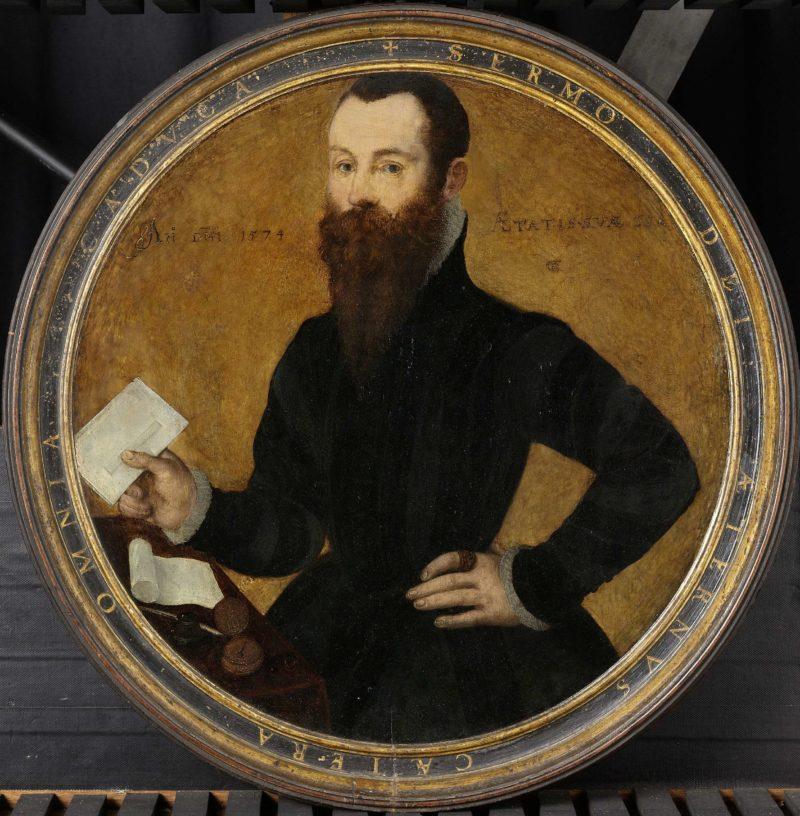 Portrait of Adam WACHENDORFF