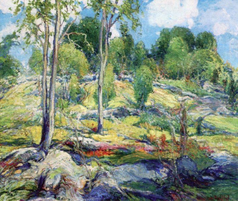 September | Charles Reiffel | oil painting