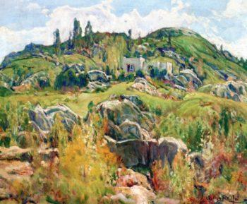 Spring at Grossmont | Charles Reiffel | oil painting