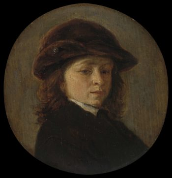 Portrait of a boy. 1640 - 1685 | Adriaen van Ostade | oil painting