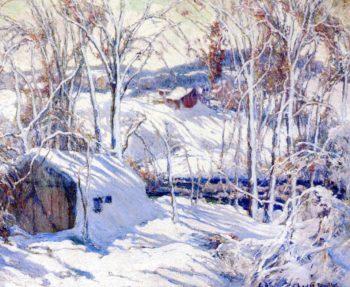 Winter Scene | Charles Reiffel | oil painting