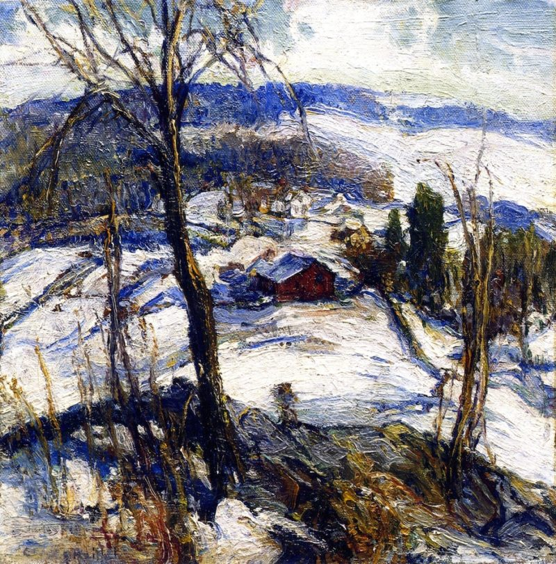 Winter | Charles Reiffel | oil painting