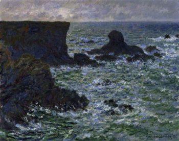 Rocks at Port Coton the Lion Rock | Claude Oscar Monet | oil painting