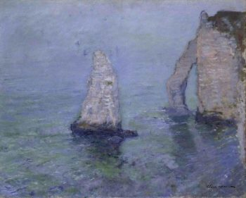 The Rock Needle and Port d Aval Etretat | Claude Oscar Monet | oil painting