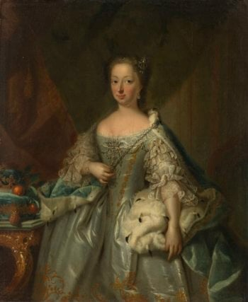 Anna of Hannover (1709-59). Wife of Prince William IV. 1753 | Johann Valentin Tischbein | oil painting