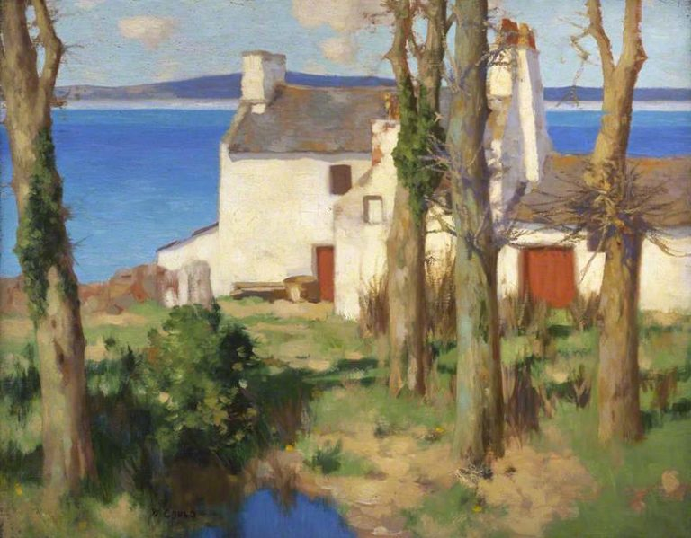 A Galloway Farm | David Gauld | oil painting