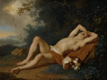 Jacob's Dream. 1660 - 1680 | Ary de Vois | oil painting