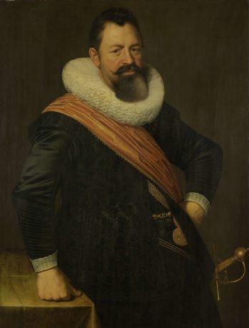 Portrait of Jochem Hendricksz Swart Hont (1566-1627). 1627 | Nicolaes Eliasz. Pickenoy | oil painting