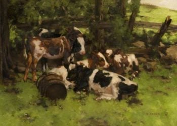 Contentment | David Gauld | oil painting