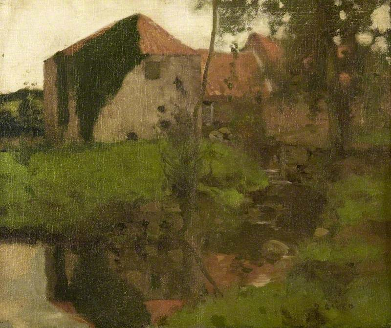 East Linton Mill | David Gauld | oil painting