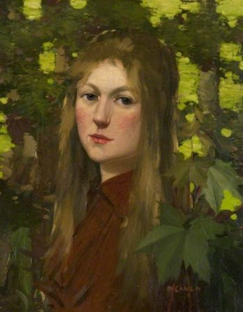 Portrait Head | David Gauld | oil painting