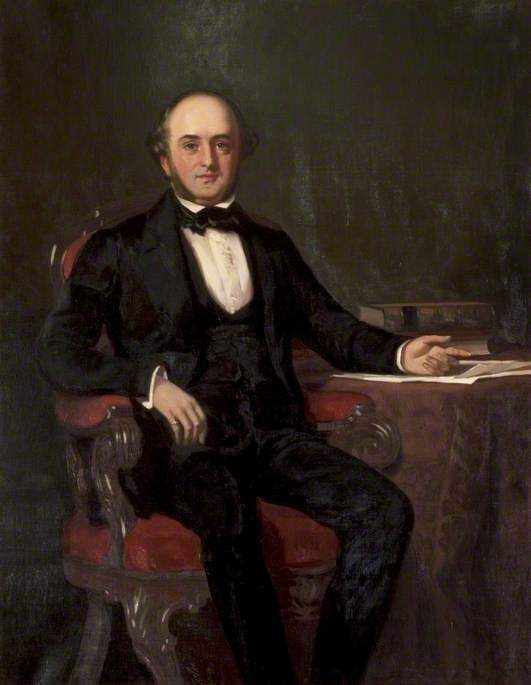 Robert Stewart Lord Provost of Glasgow | David Gauld | oil painting